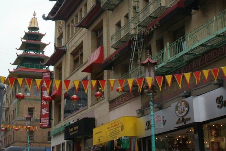 Hobnob Tours Union Square Chinatown