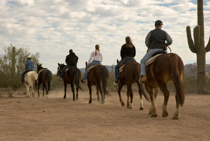 Horseback Riding Desert