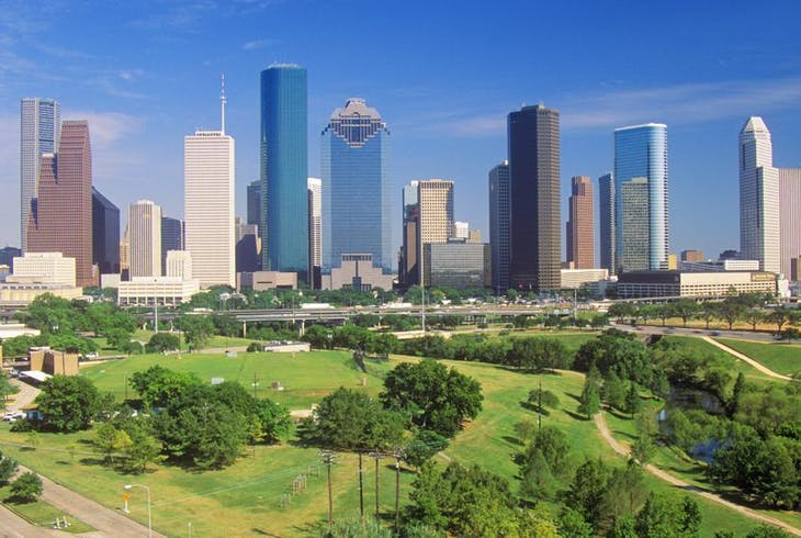 Houston Skyline Daytime