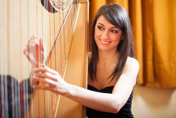 Iac Celtic Harp