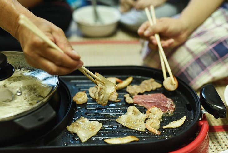 Japanese Cooking Meat