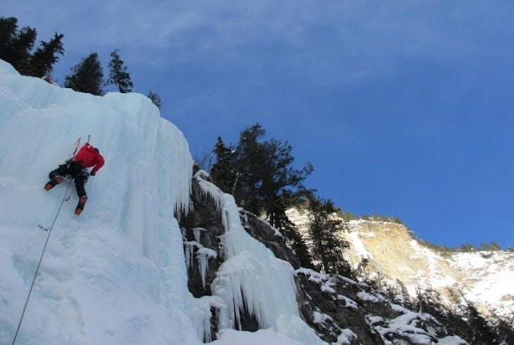 Kaf Adventures Ice Climbing