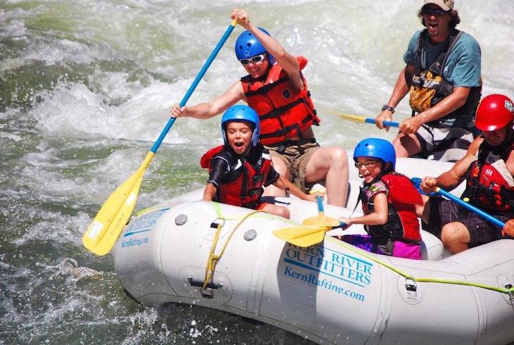 Kern River Outfitters Kernville Rapid Run