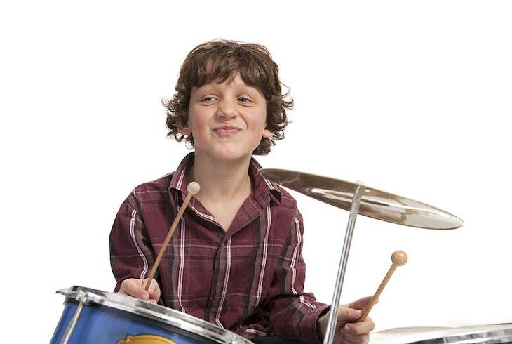 Kids Drumming