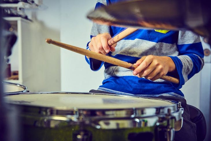Kids Drumming