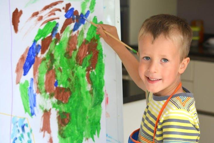 Kids Toddlers Art