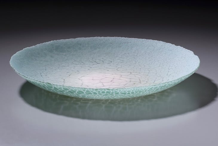 Kiln Glass Plate
