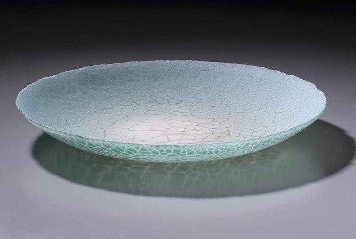 Kiln Glass Plate
