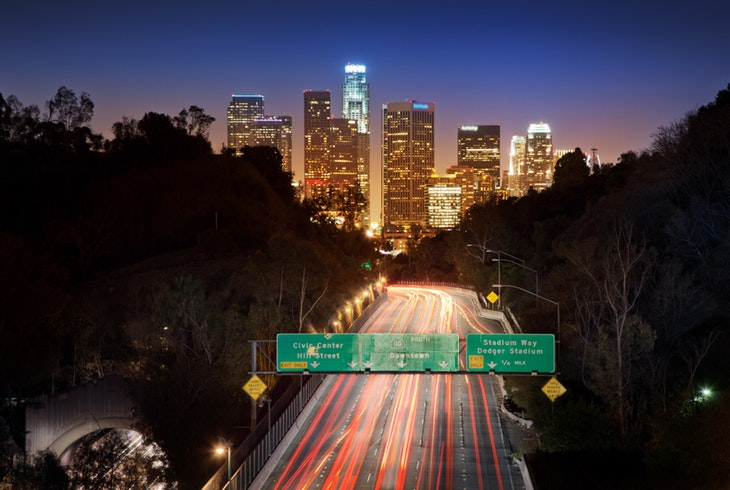 Los Angeles Night Generic