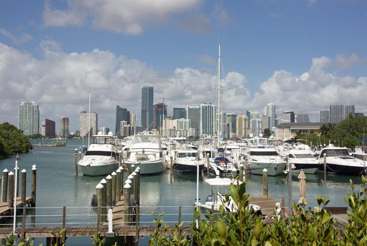 Miami Biscayne Bay Coconut Grove