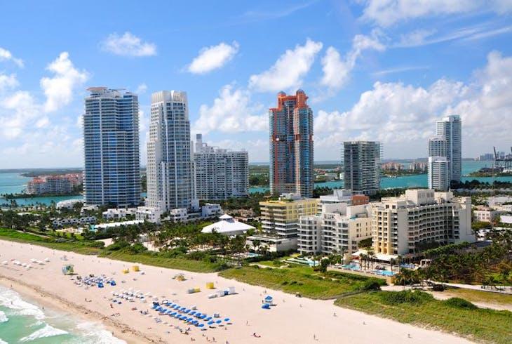 Miami South Beach Aerial