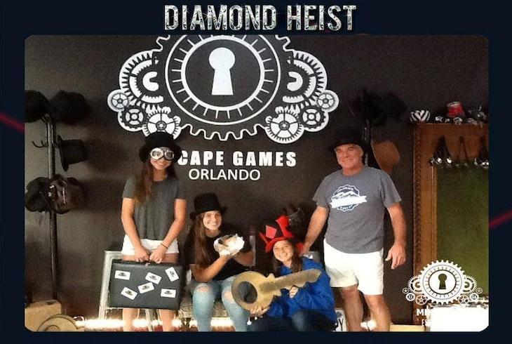 Mindquest Live Orlando Diamond Heist