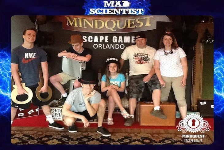 Mindquest Live Orlando Mad Scientist