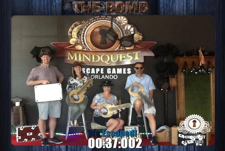 Mindquest Live Orlando The Bomb