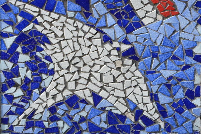 how to cut ceramics for mosaics