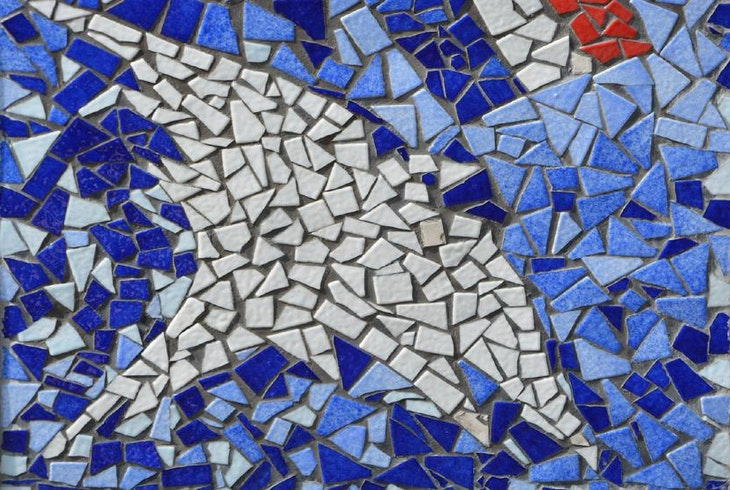 how to cut ceramics for mosaics