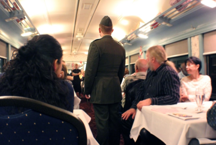 Murder Myster Dinner Train