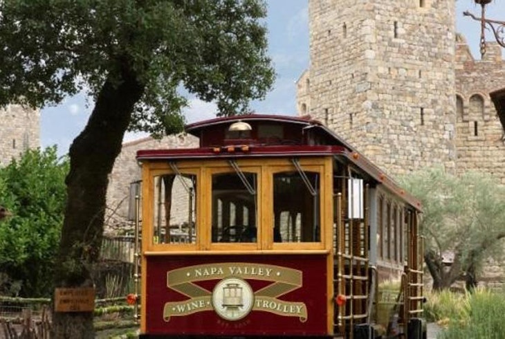 Napa Valley Wine Trolley Castle Tour