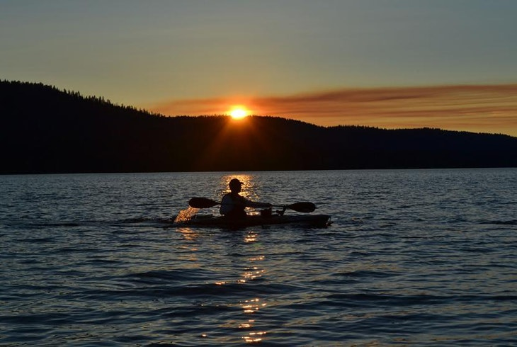 Night Kayak