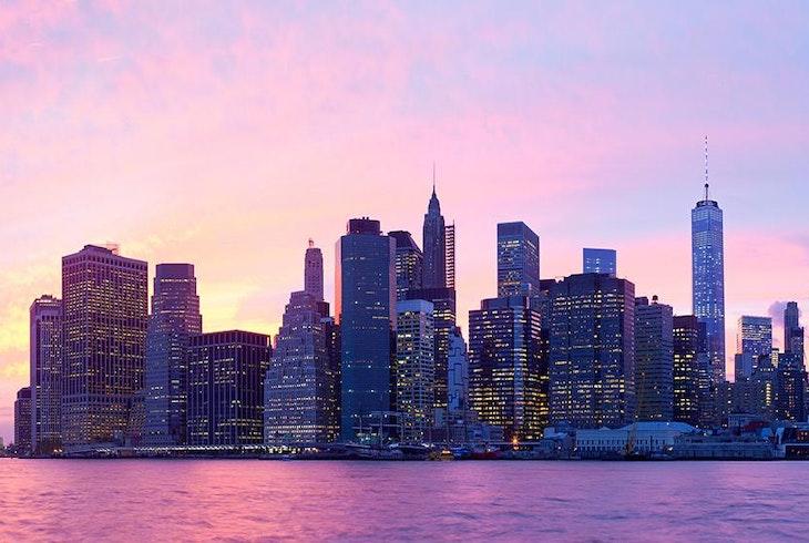 Nyc Skyline Sunset