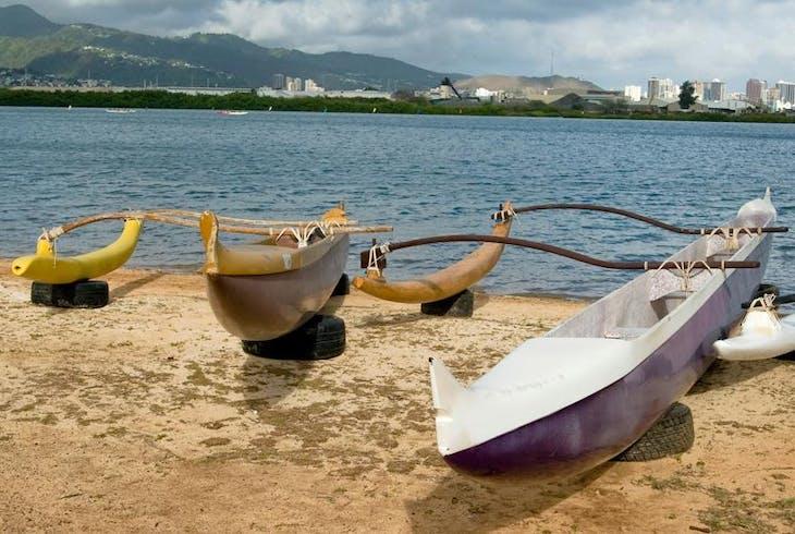 Outrigger Canoe