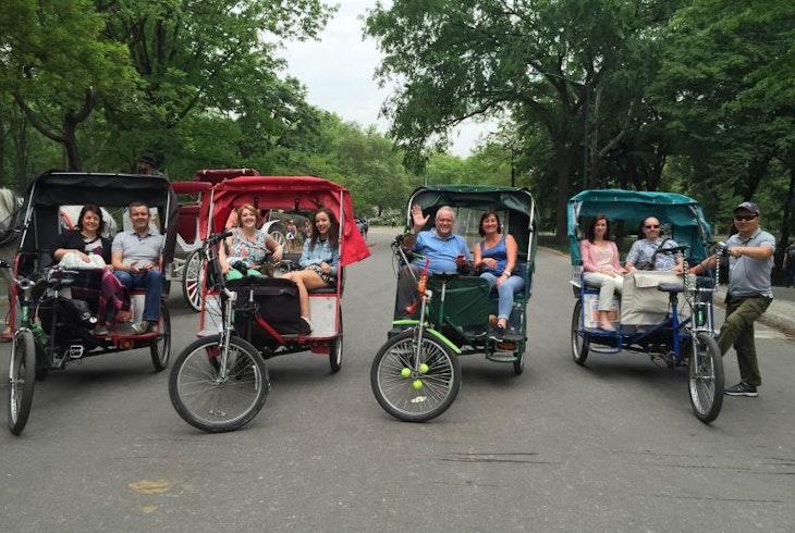 Peter Pan Pedicab Tours Three Hour Tour