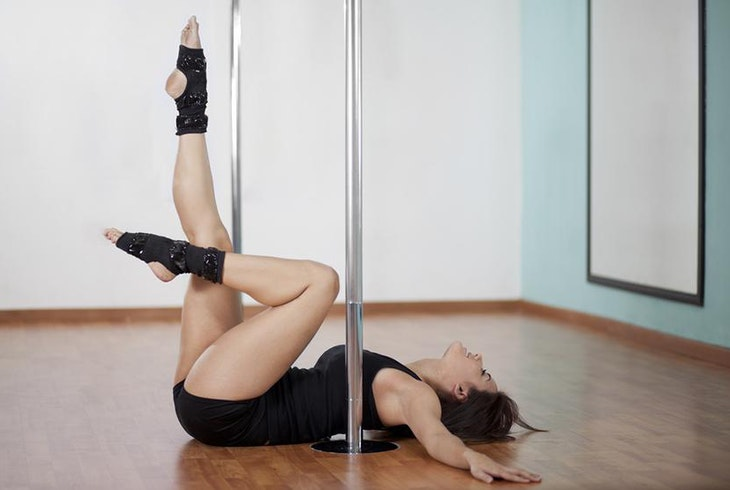 Pole Dance Floor Work