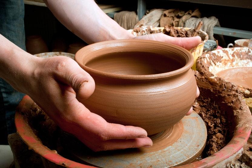 Pottery Sip Amp Spin Choplet The Ceramics Studio Artsy