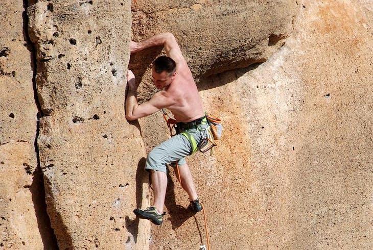 Rock Climbing Outdoor Desert