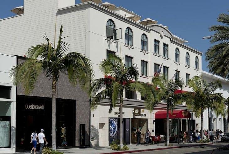 Rodeo Dr Graumans Theater
