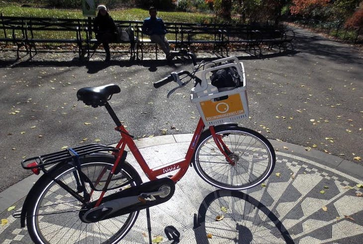 Rolling Orange Bike