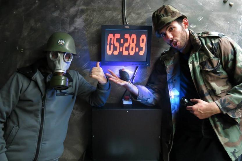 Cold War Bunker Room Escape Group Roomescape Los Angeles