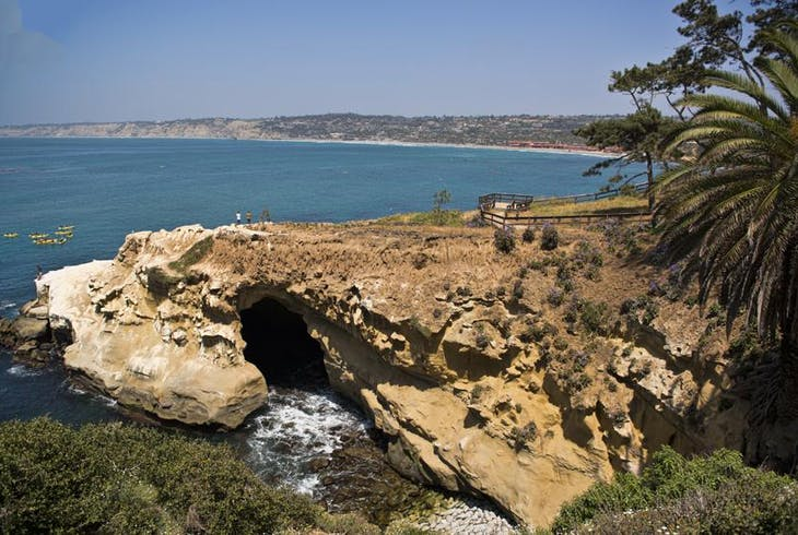 San Deigo Sea Caves