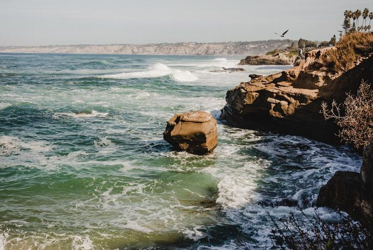 San Deigo Sea Caves