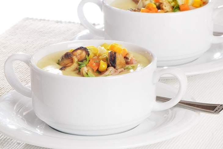 Seafood Clam Chowder