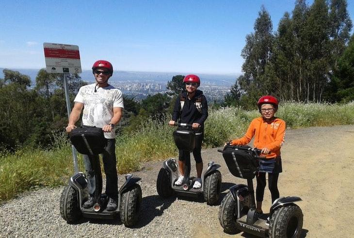 Segway Off Road Big Redwood Tour