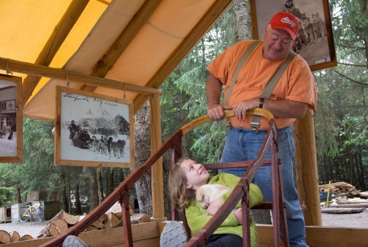 Skagway Dog Sledding Mushers Camp