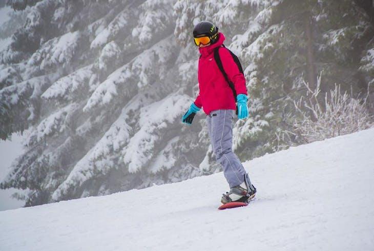 Snowboarding
