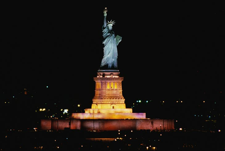 Statue Of Liberty Night