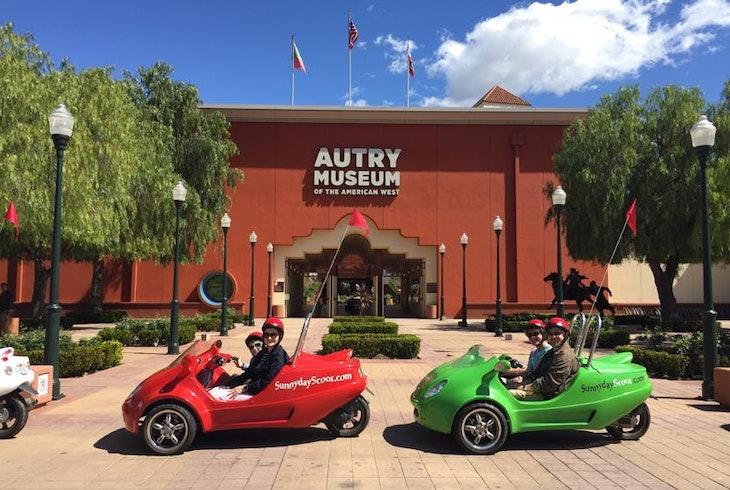 Sunnyday Scoot Discover LA Scooter Car Tour