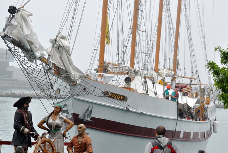 Tall Ship Windy Real Pirates Of The Inland Seas