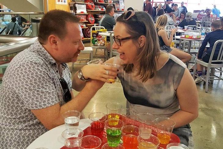 Taste Buzz Finger Licking