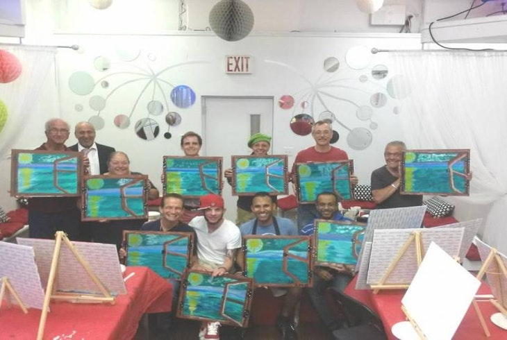 Tech World Painting With Friends