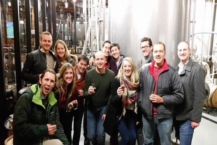 The Barrel Run Brewery Tour