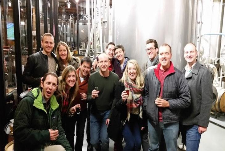The Barrel Run Brewery Tour