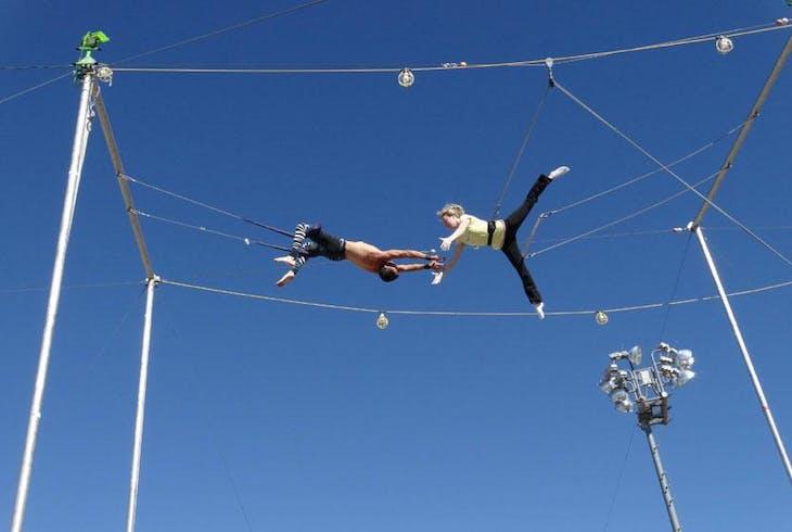 Trapeze Las Vegas