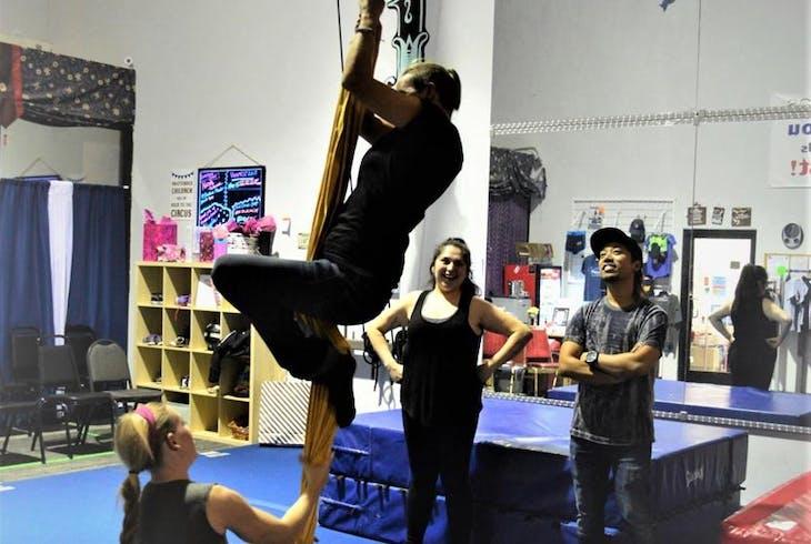 Trapeze Las Vegas Silks
