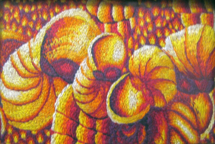 Urban Oil Ceramics Embroidery
