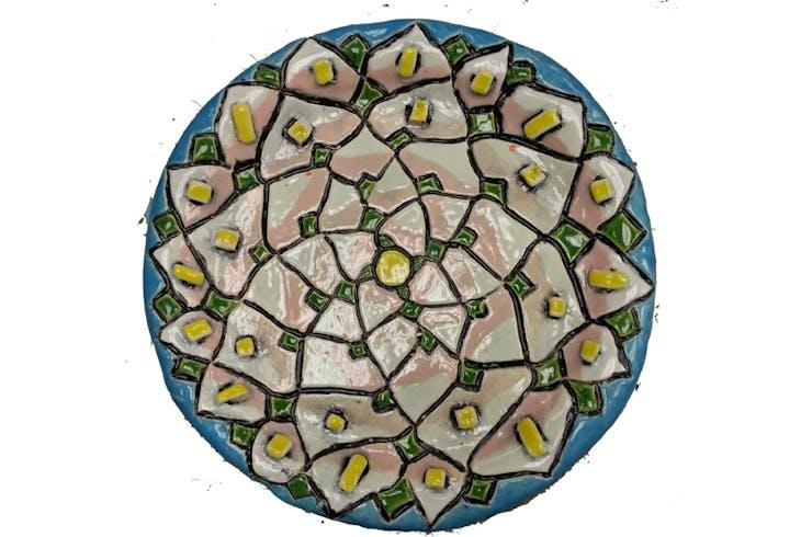 Urban Oil Ceramics Plate Glazing