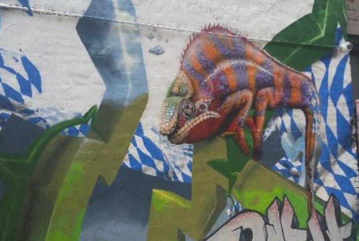 V Downtown Graffiti Tour 15901